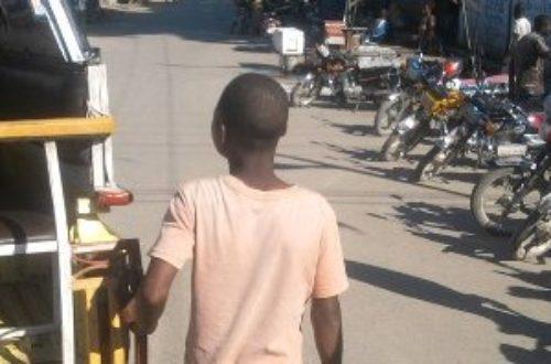 Article : Travailleur de camion, le métier d'un enfant.