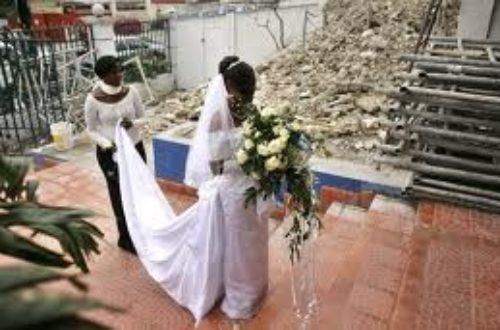 Article : Maman! Je ne veux plus me marier