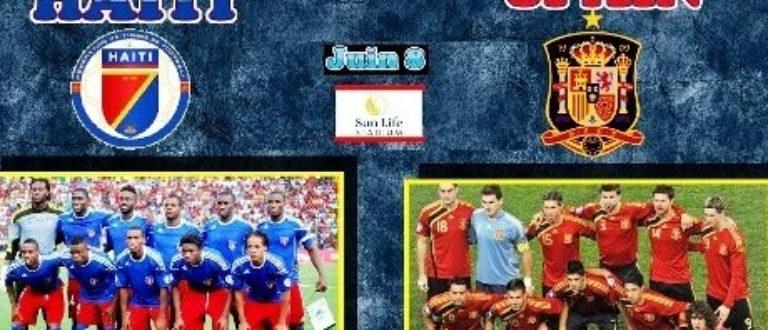Article : Haïti-Espagne : Une défaite à la saveur d'une grande victoire