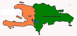 Carte d'Haïti et la République Dominicaine via wikipédia.org