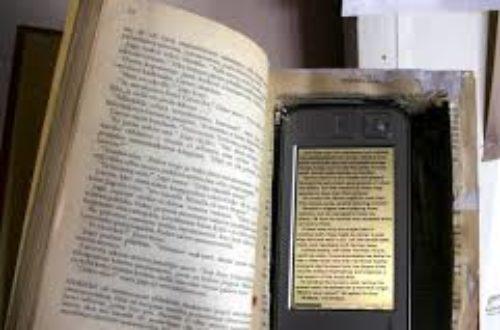 Article : Lisez-vous beaucoup plus avec l'internet ?