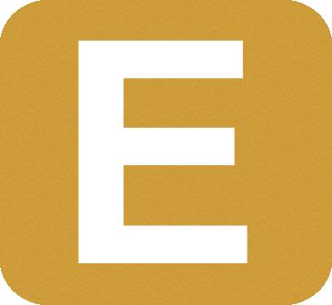 E, le cinquième lettre de l'alphabetphoto via https://nrm.wikipedia.org/wiki/File:E-NQS_Central.png