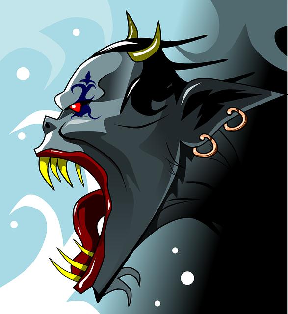 Crédit photo: https://pixabay.com/fr/d%C3%A9mon-diable-mal-monstre-alien-161607/