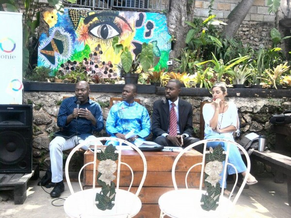 de gauche à droite: Gotson Pierre-Fofana Baba Idriss-Wilney Taris-Amélie Baron