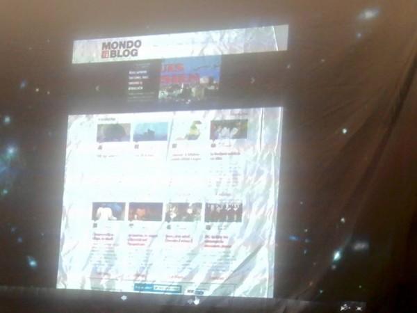 la plateforme Mondoblog