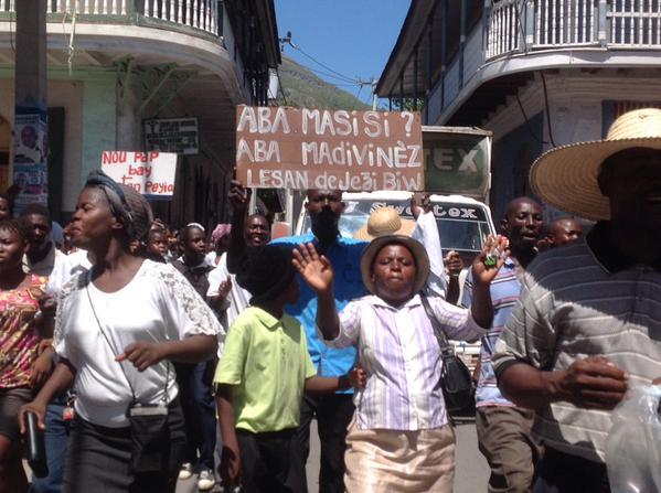 Manifestation contre mariage pour tous