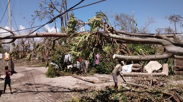 Dégat de l'Ouragan Matthew aux Cayes
