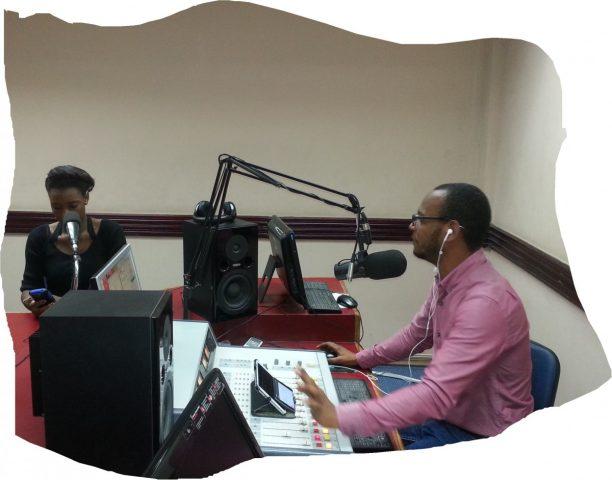 Studio de la Radio Africa