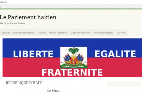 Article : Qui s'occupe de la communication numérique au Parlement haïtien ?