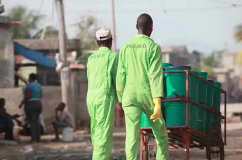 Article : En Haïti, le programme Ekolakay pour assainir l'environnement